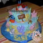 Torta Nemo – cake design – torta compleanno bambini