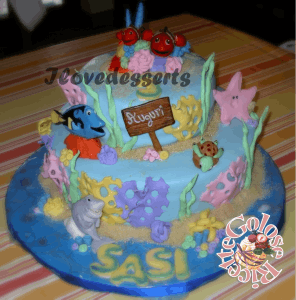 TORTA-NEMO1-296x300 Torta Nemo - cake design - torta compleanno bambini TORTE
