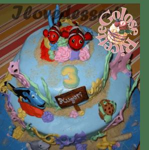 TORTA-NEMO3-298x300 Torta Nemo - cake design - torta compleanno bambini TORTE