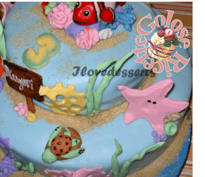 TORTA-NEMO4-300x259 Torta Nemo - cake design - torta compleanno bambini TORTE