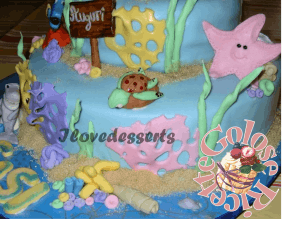 TORTA-NEMO6-300x227 Torta Nemo - cake design - torta compleanno bambini TORTE