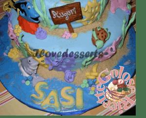 TORTA-NEMO7-300x242 Torta Nemo - cake design - torta compleanno bambini TORTE