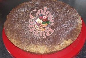 sbriciolata con ripieno di ricotta e gocce di cioccolato