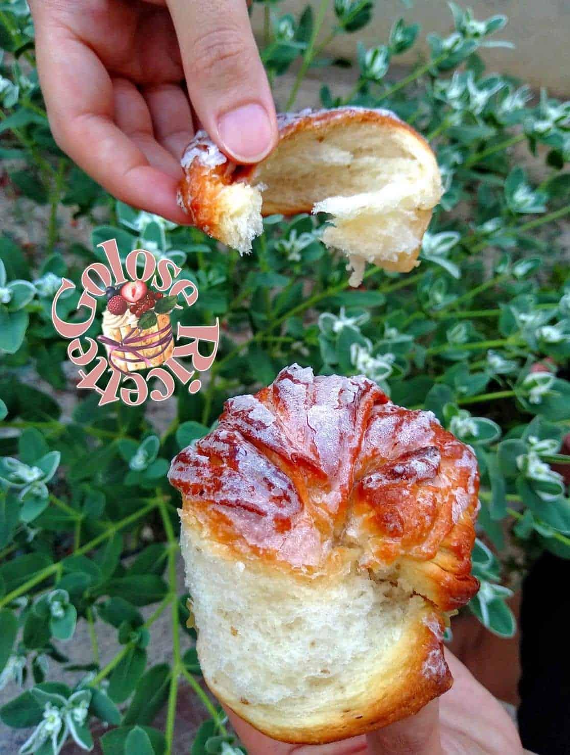 Pan brioche semi-sfogliata