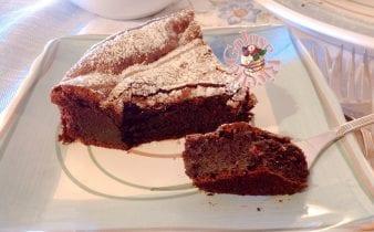 Torta tenerina glutin free Con cioccolato al latte