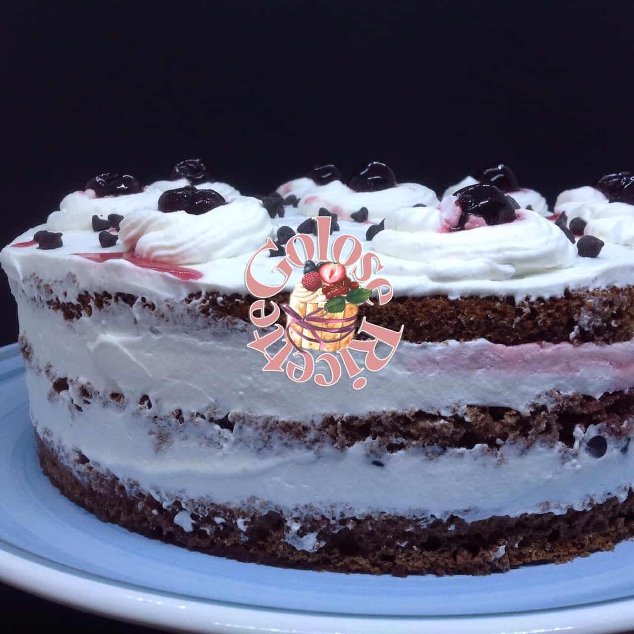 Torta Foresta Nera,Schwarzwälder Kirschtorte,l'originale