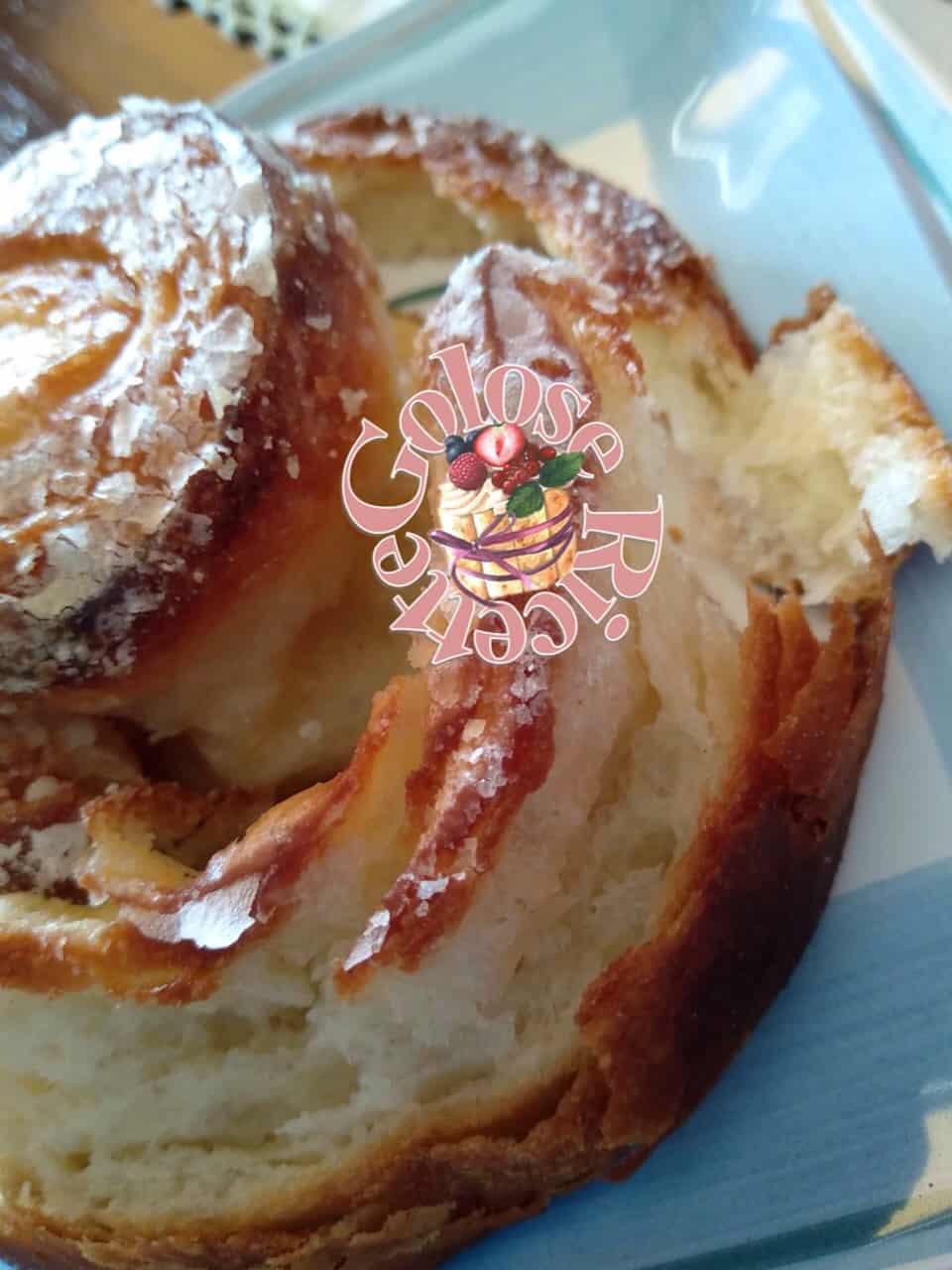 Girella sfogliata alla granella di zucchero – di P. Giorilli