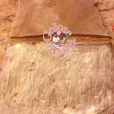 Brioche bicolore semi sfoglia