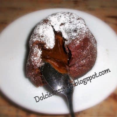 tortino di cioccolato dal cuore fondente