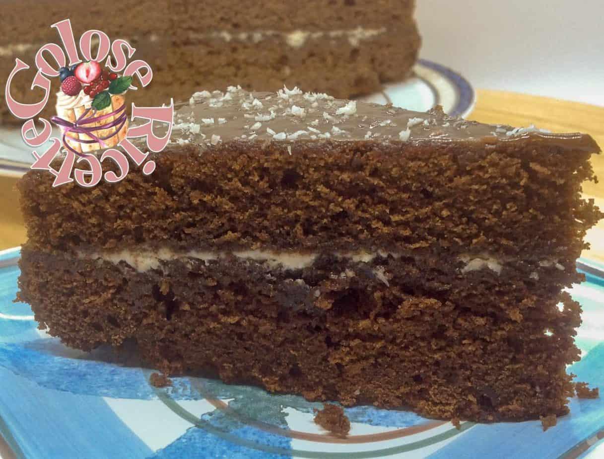 Torta Do Brasil – torta tutta cioccolato e cocco