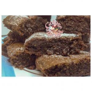 brownies1-300x300 Brownies al caffè e cioccolato - Mocha-iced Brownies