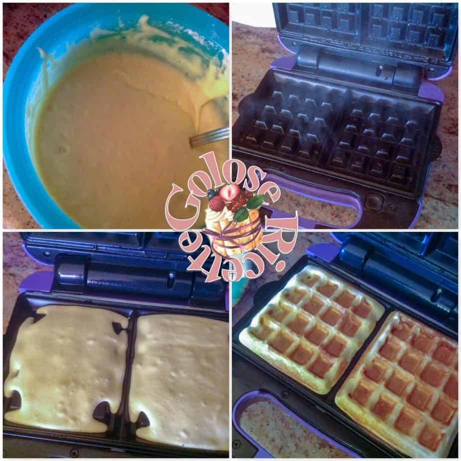 WAFFLES-1024x1024 WAFFLES - ricetta originale  e variante al cioccolato CIOCCOLATO, MUFFINS, DOLCI FRITTI & CO.