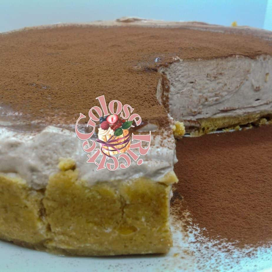 CHEESECAKE MOUSSE AL CACAO - ricetta senza cottura e senza gelatina