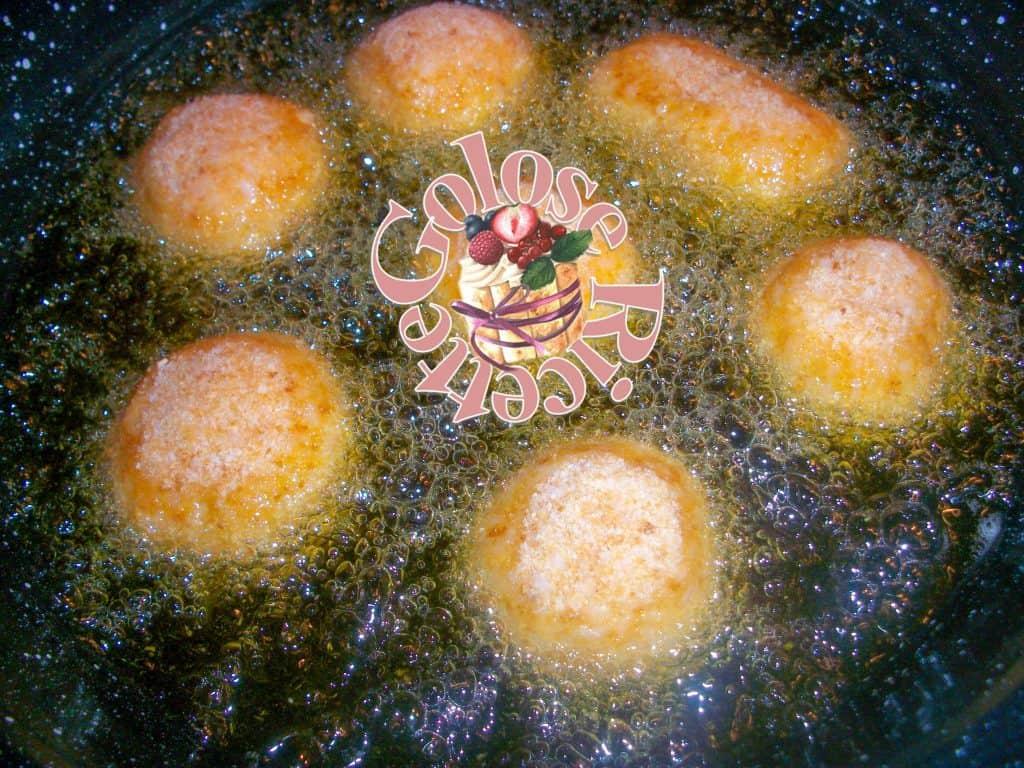 Arancini supplì di riso frittura