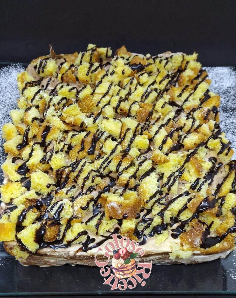 11-810x1024 Mattonella di pandoro e gelato - la ricetta per riciclare TORTE