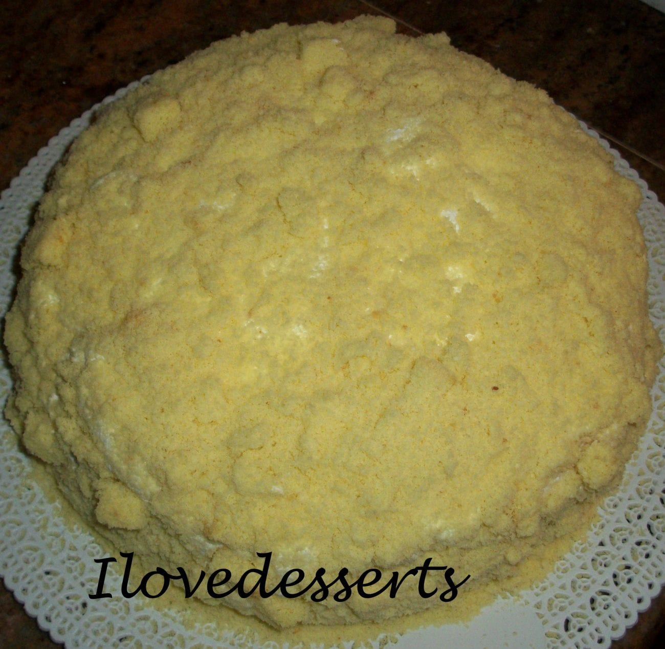 Torta Mimosa classica – il dolce delle donne