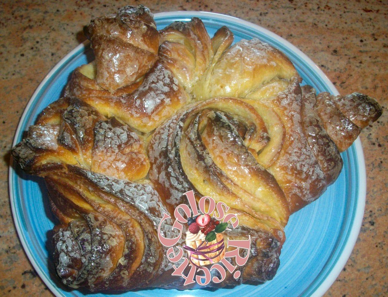 Torta di rose Sfogliata 2.0 ricetta con Licoli