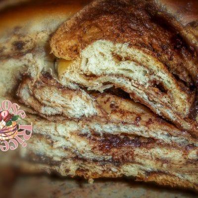 treccia pan di latte con nutella