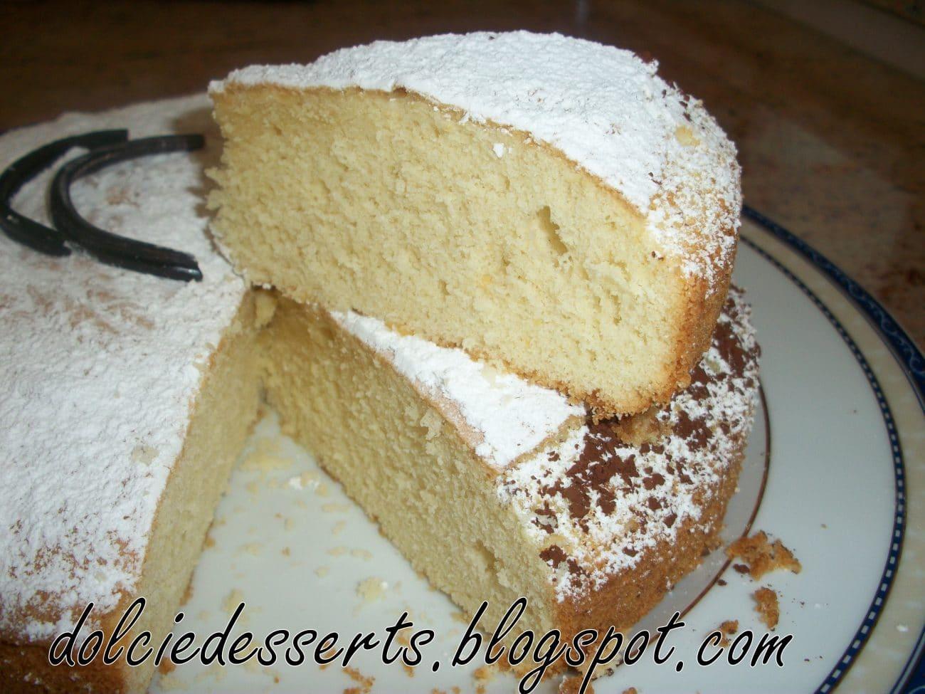 Torta sabbiosa ricetta di Giovanni Pina