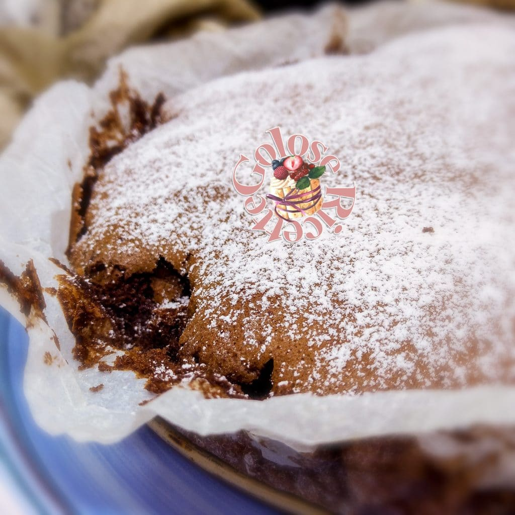 Torta cioccolatino fondente