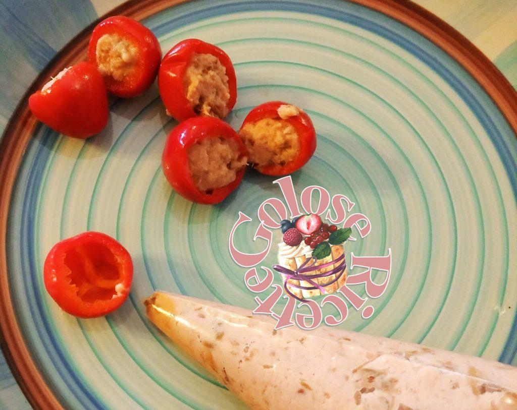 Peperoncini piccanti ripieni di tonno - ricetta calabrese