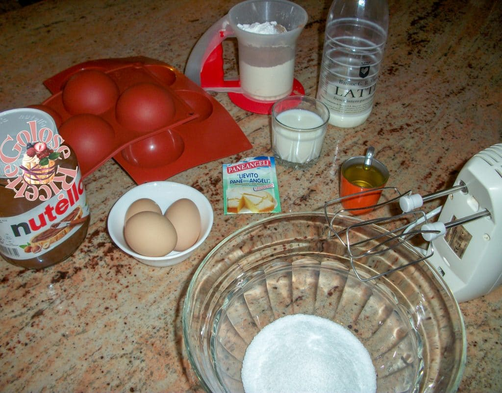 Tortino cacao e nutella facilissimo
