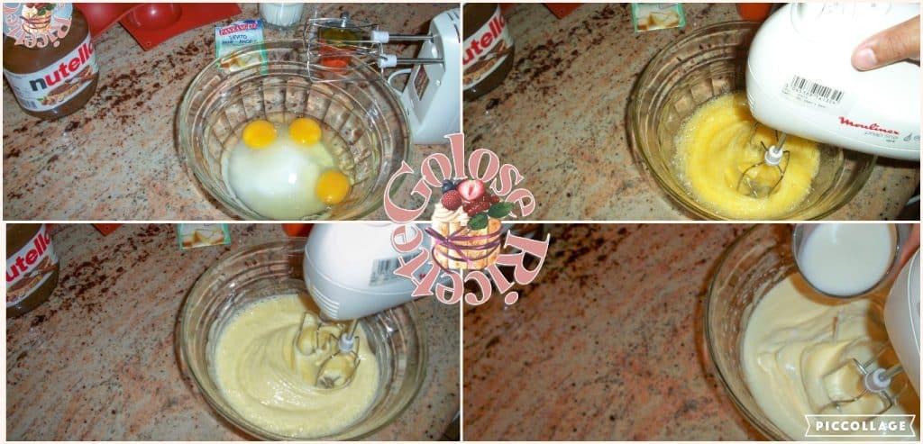 tortino al cacao e nutella parte 1