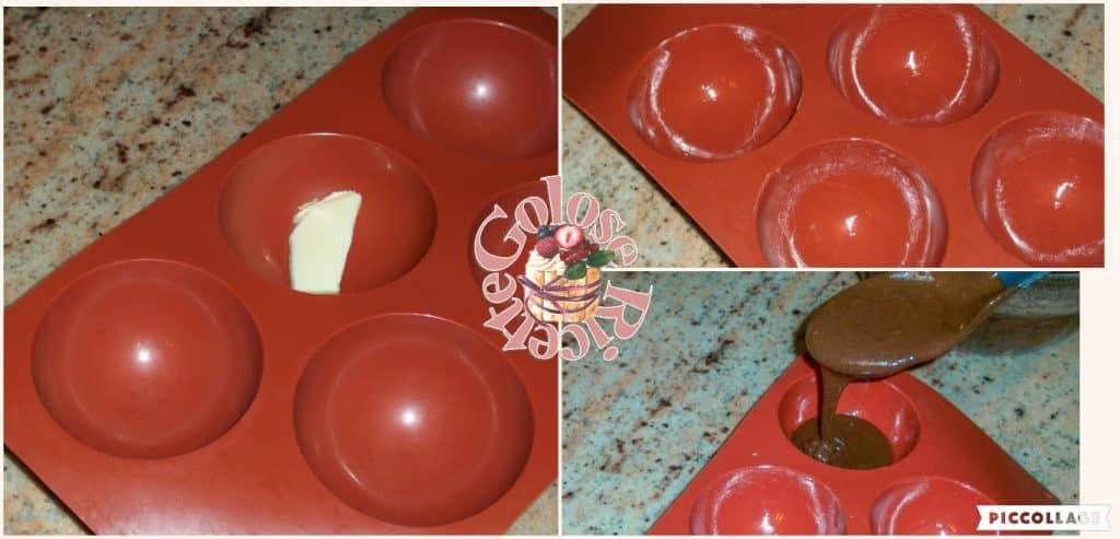 tortino al cacao e nutella parte 3