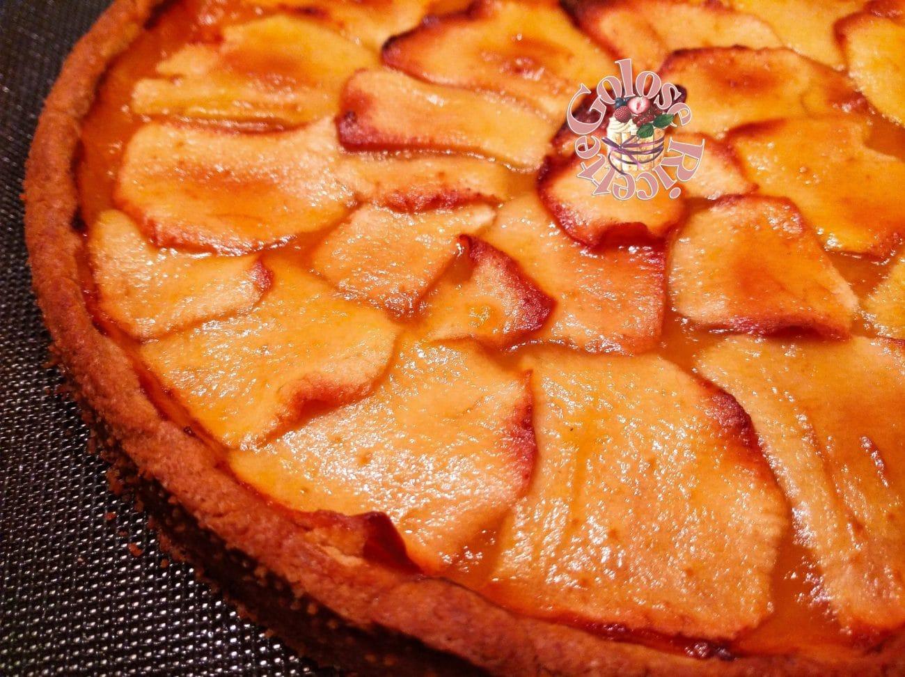 Crostata di confettura e mele – ricetta facile e squisita