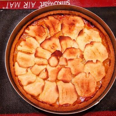 crostata confettura e  mele cotta