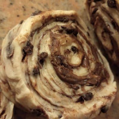 girelle nutella e cioccolato
