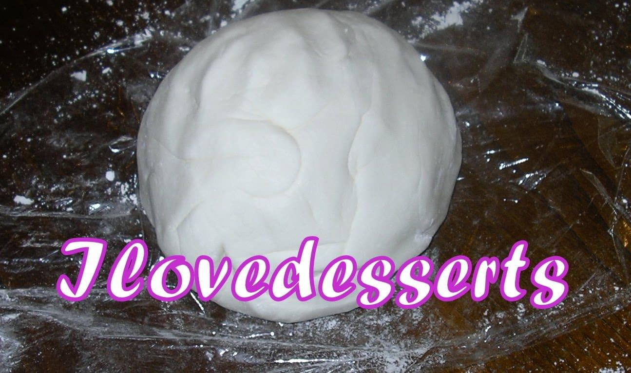 MMF, ricetta del Marshmallow fondant, pasta di zucchero