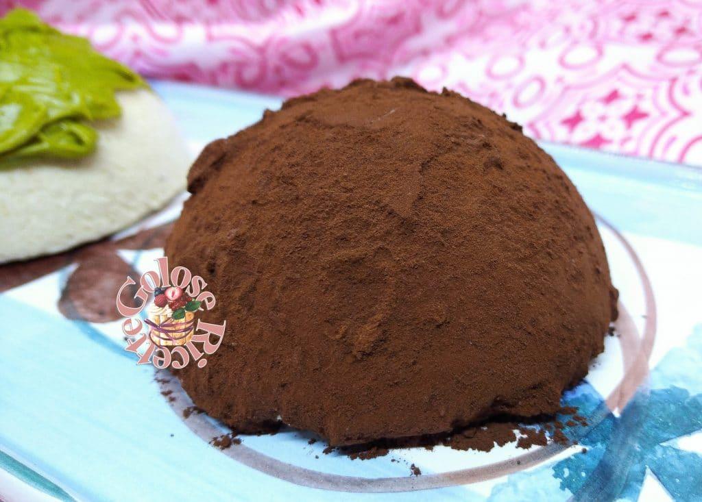 semifreddo pistacchio coperto cacao